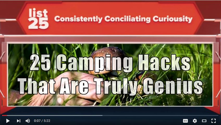 Camping Hacks That Will CHANGE YOUR LIFE
