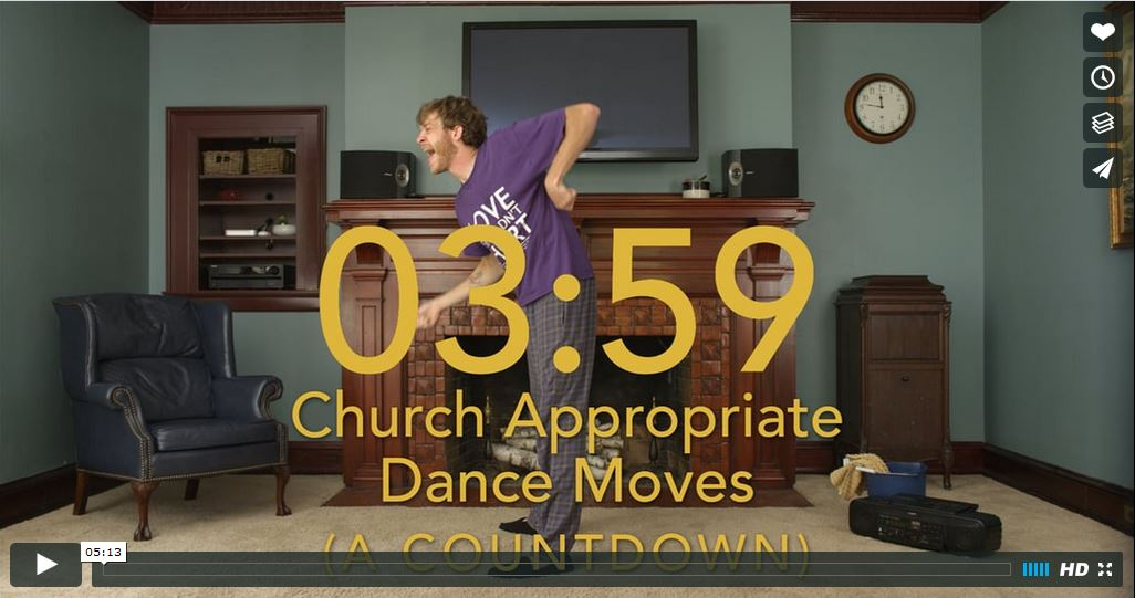 Church Dance Moves Countdown