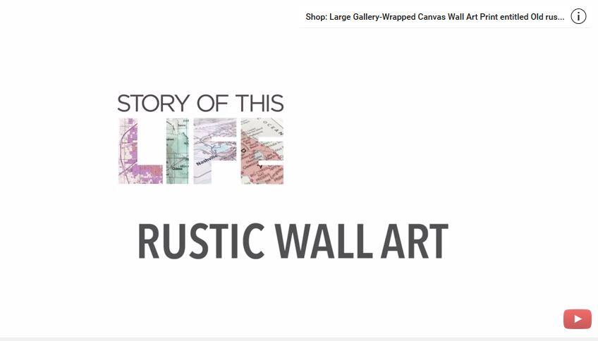 DIY Rustic Wall Art