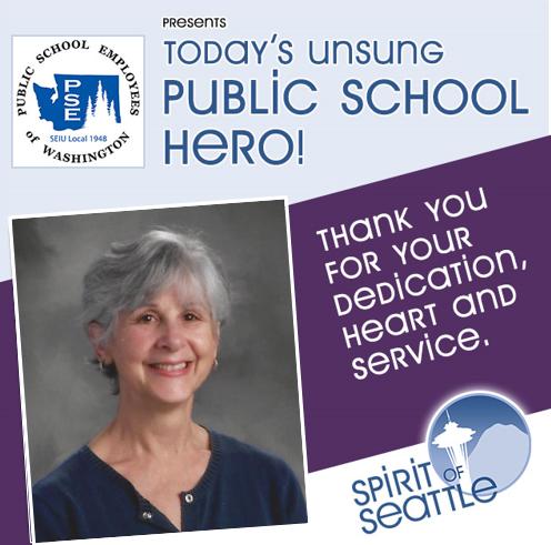 Recognizing the Public School Employees - Karen Johns
