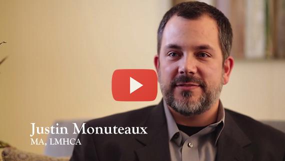 Meet Justin Monuteaux, MA, LMHCA