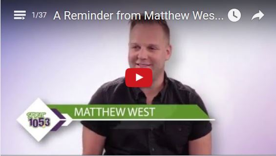 Embracing God's Dreams For Us: Hear From Matthew West