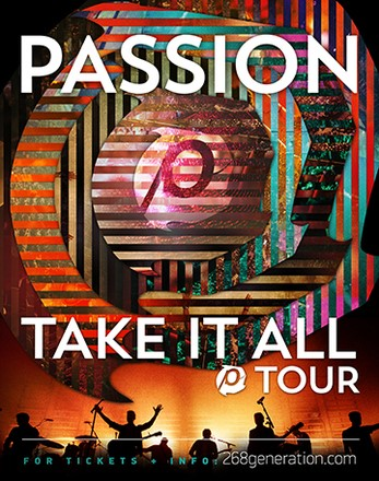 Kristian Stanfill to Lead 26-City 'Passion: Take It All' Tour, Kicking Off September 10