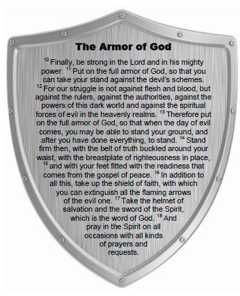 Armor of God - PRINTABLE