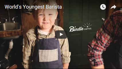 The World's Youngest (and Cutest!) Barista