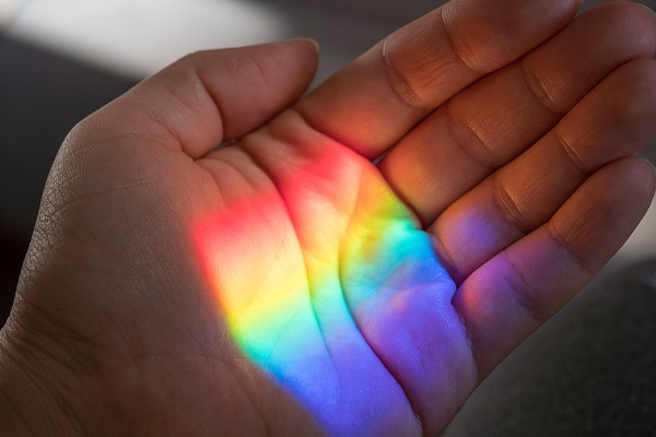 A Rainbow in My Hand