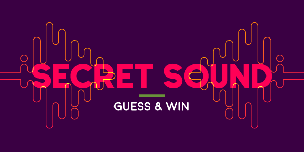 Secret Sound Winner - Congratulations Cristina from Everett!