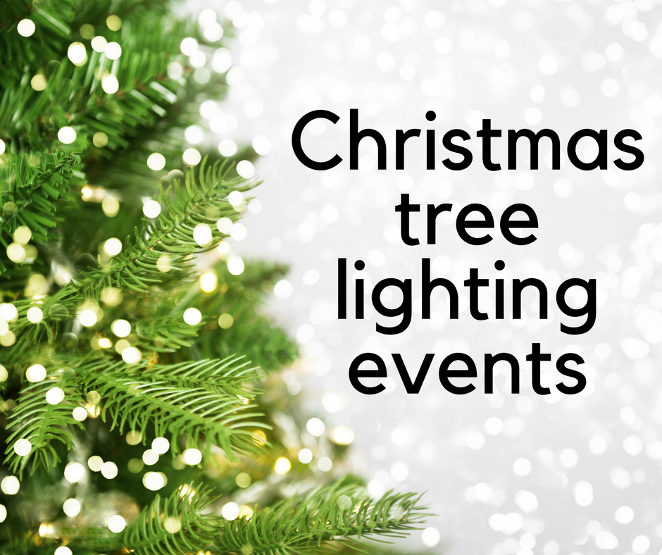 Christmas Tree Lighting Events 12/1-12/2