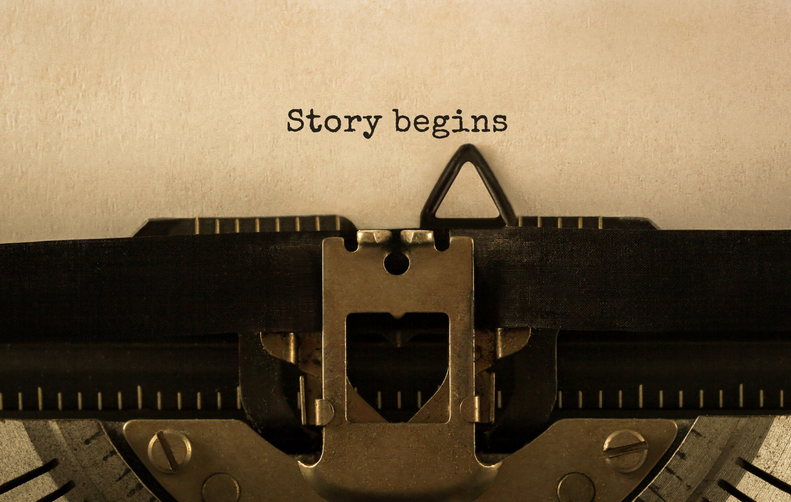 Your Story Can Start At Any Time