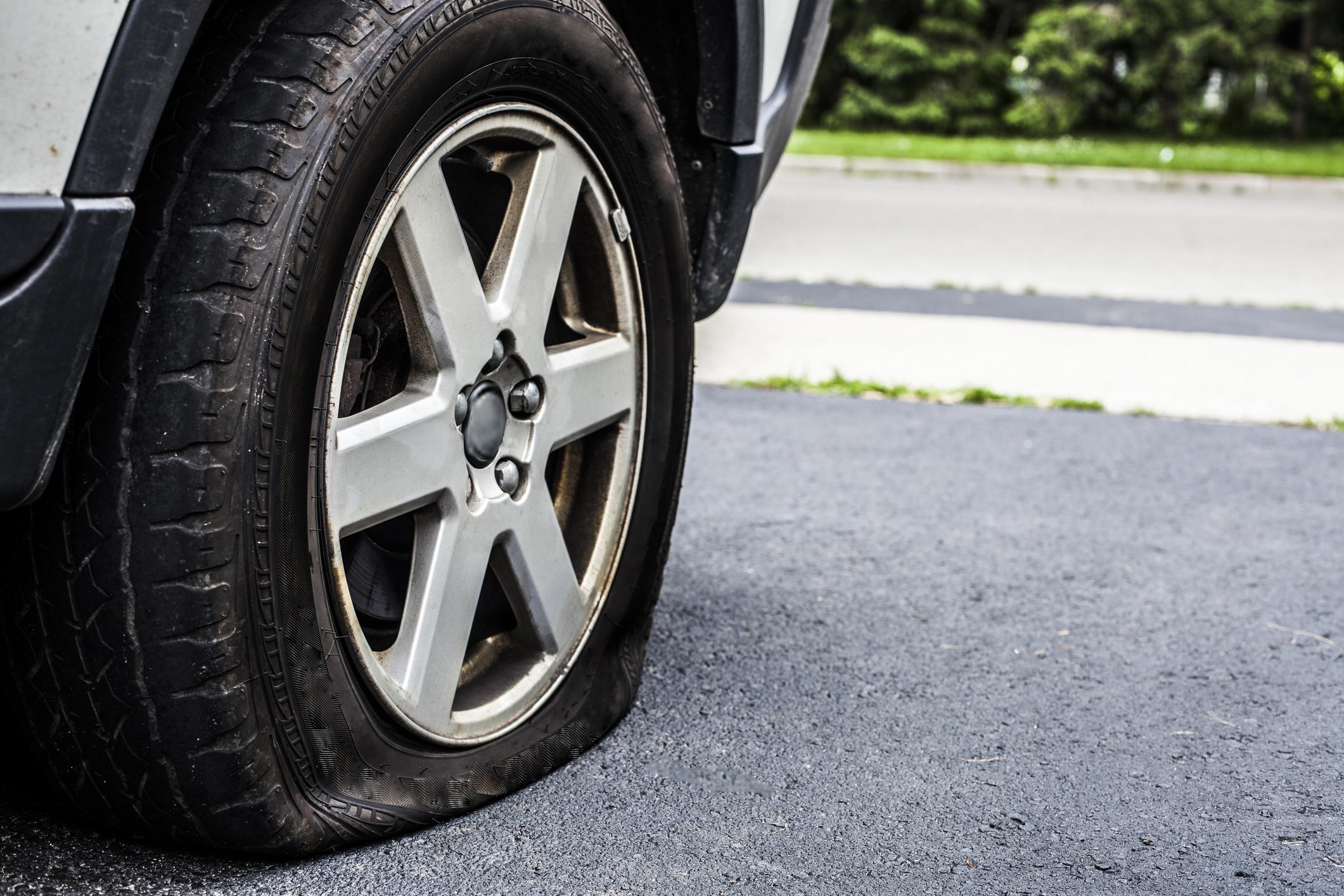 Sarah Taylor's Flat Tire Angel