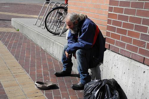 Homeless Helping Homeless