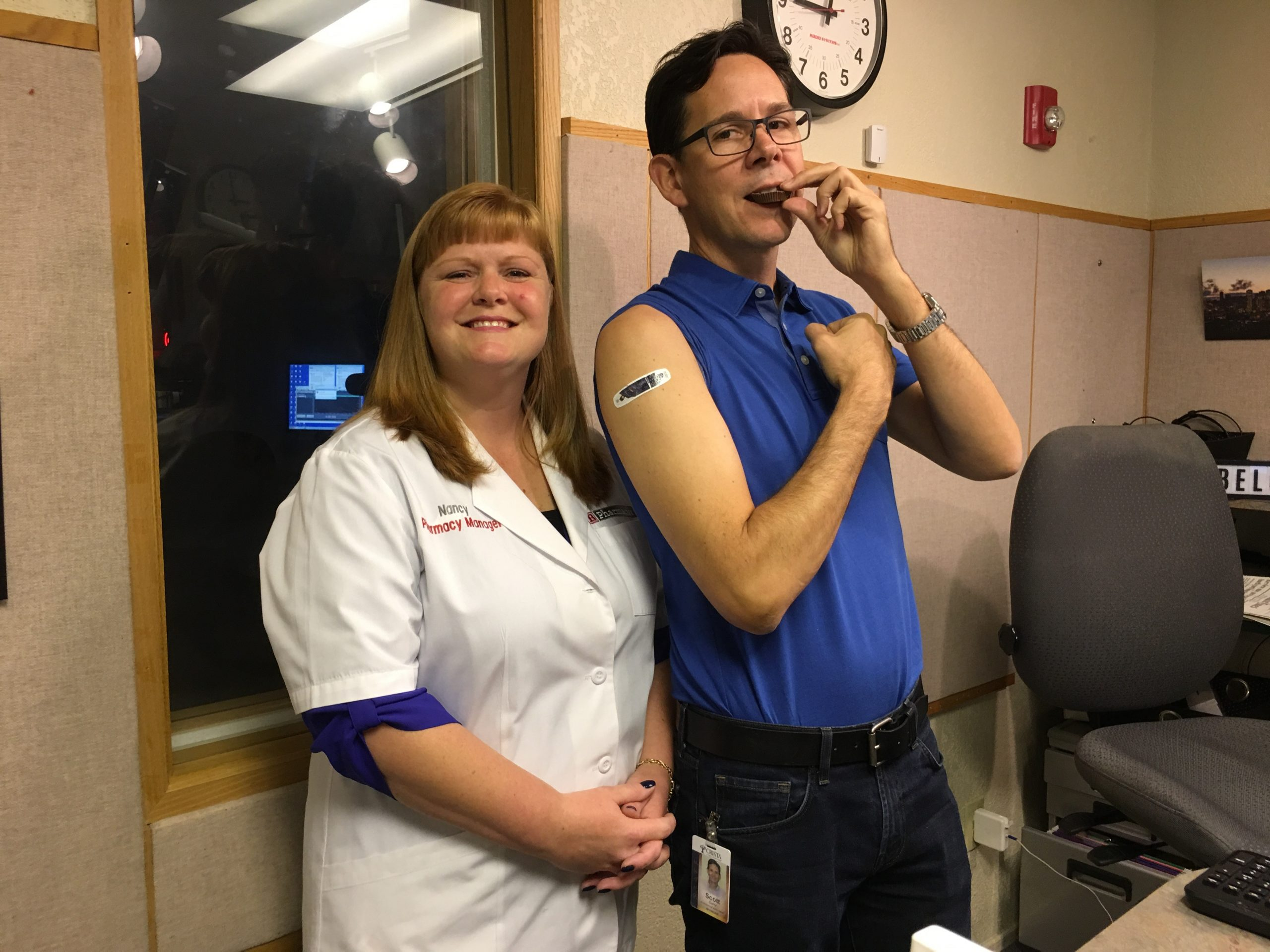 Flu Shot Demo with Scott Carty & Bartell Drugs
