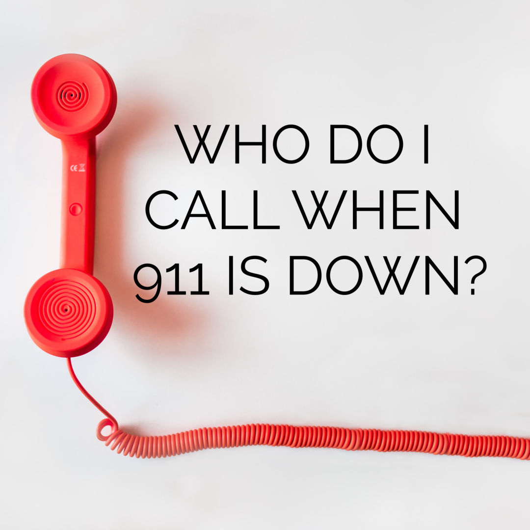 Here are the Numbers You Need During 911 Outage *PRINTABLE*