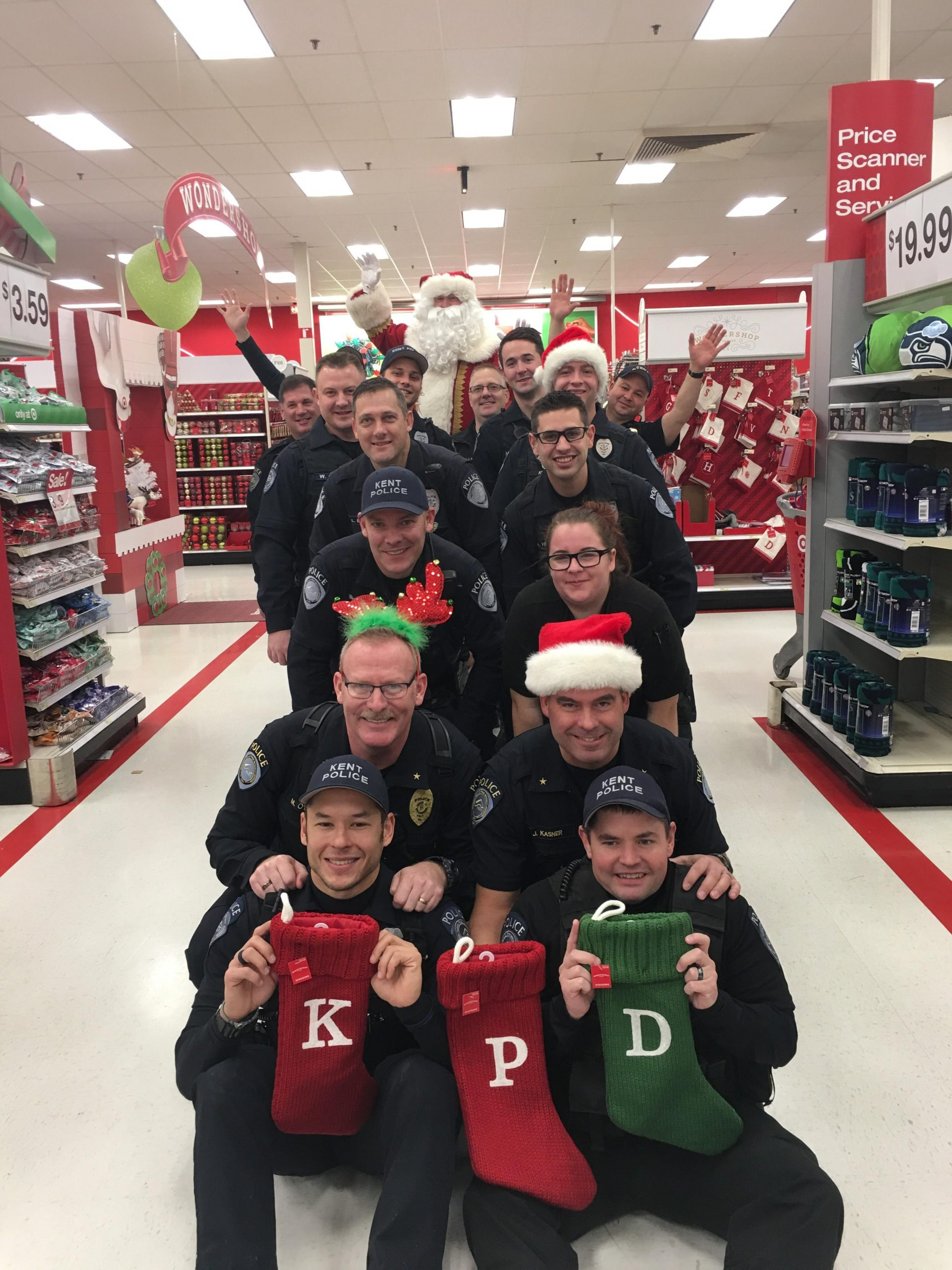 Kent Police and Target to Host a Holiday Shopping Event for Kids from Kent Youth and Family Services