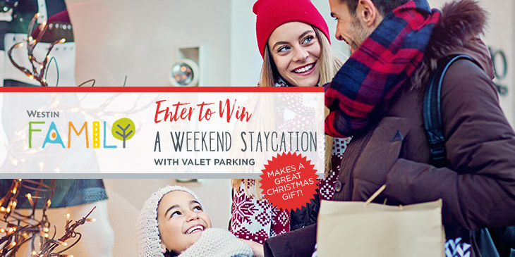 Win a Weekend Staycation with Valet Parking at Westin Seattle