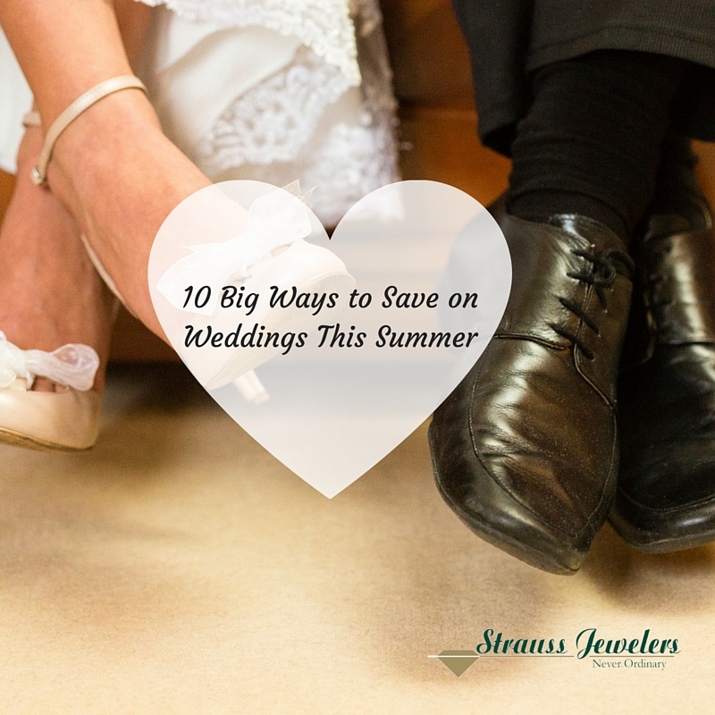 10 Big Ways to Save on Weddings This Summer