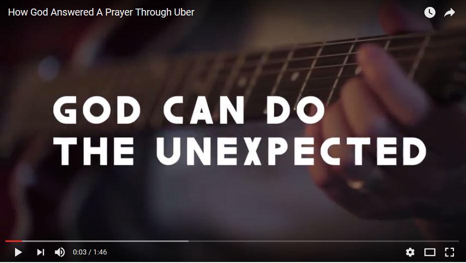 God Answered His Prayers Through Uber