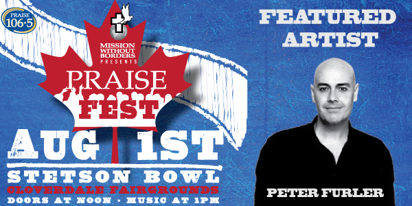Peter Furler Is Coming to PRAISE Fest!