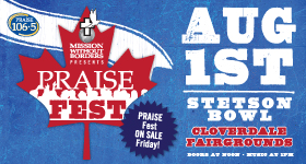 PRAISE Fest is Here! Tickets On Sale!