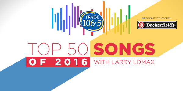 Top 50 Songs of 2016