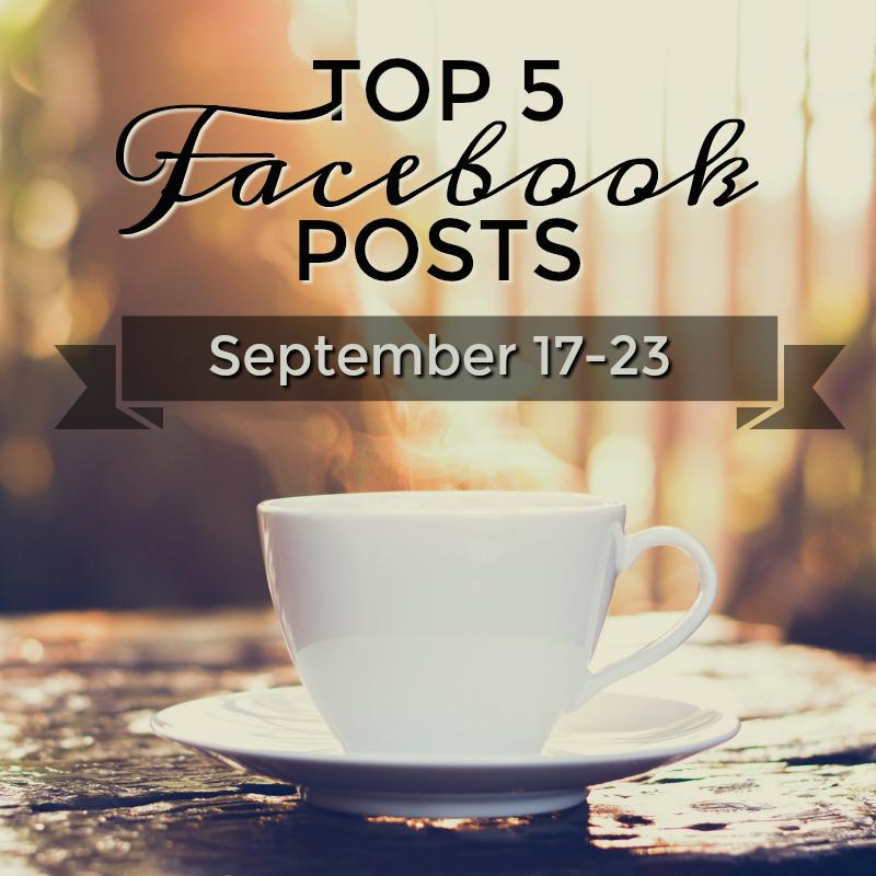 Facebook Top 5 (09/17-09/23)