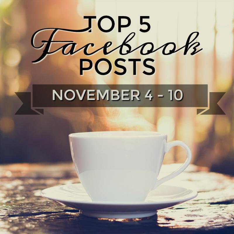 Facebook Top 5 (10/04-10/11)