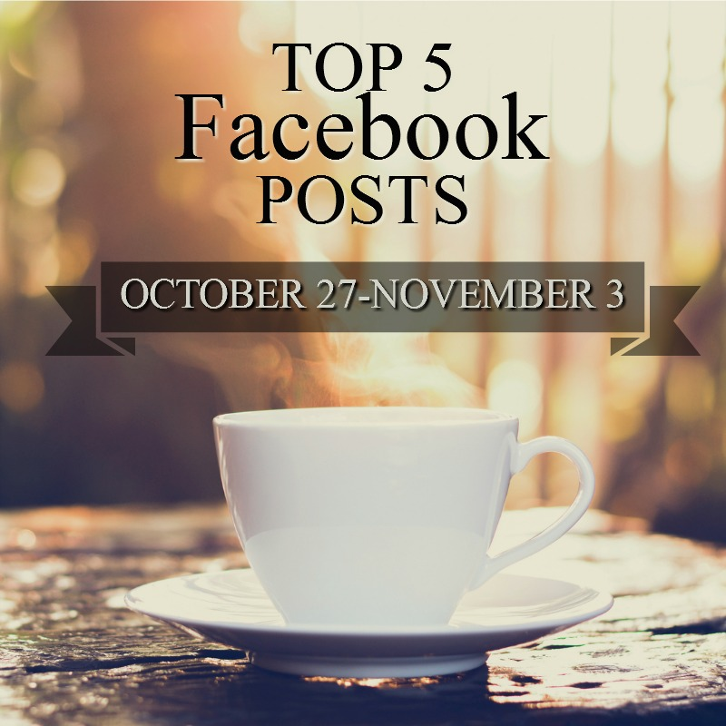 Facebook Top 5 (10/27-11/03)