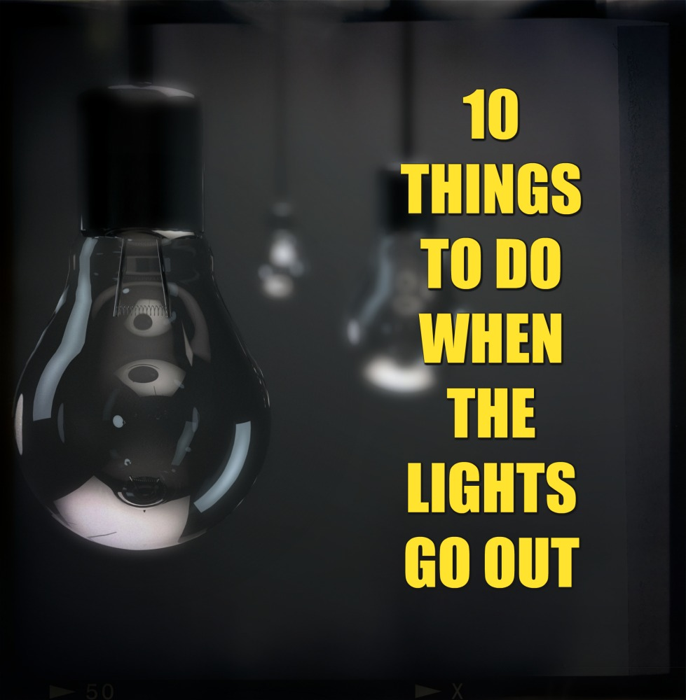 10 Fun Things To Do If The Power Goes Out