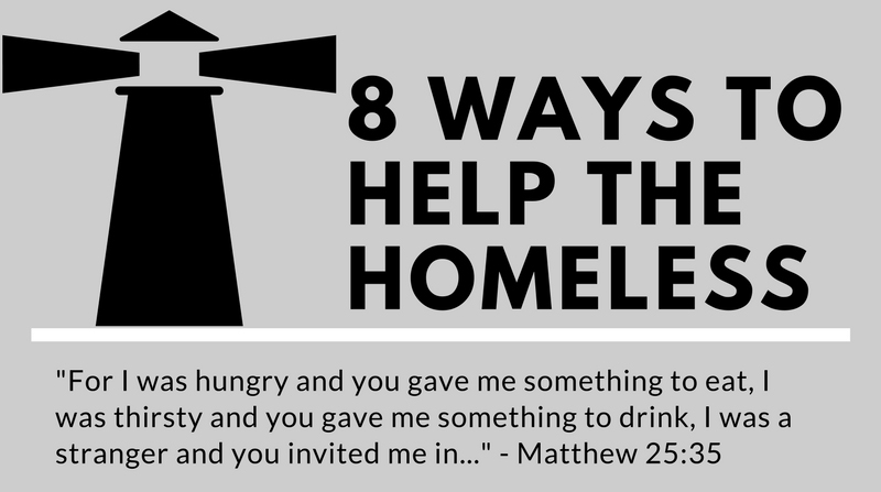8 Ways to Help the Homeless