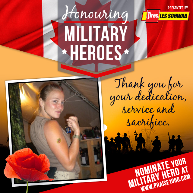 Military Hero - Nicole Ker