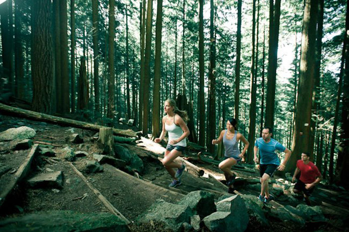 Highlight from Jim & Lynette: Grouse Grind Record