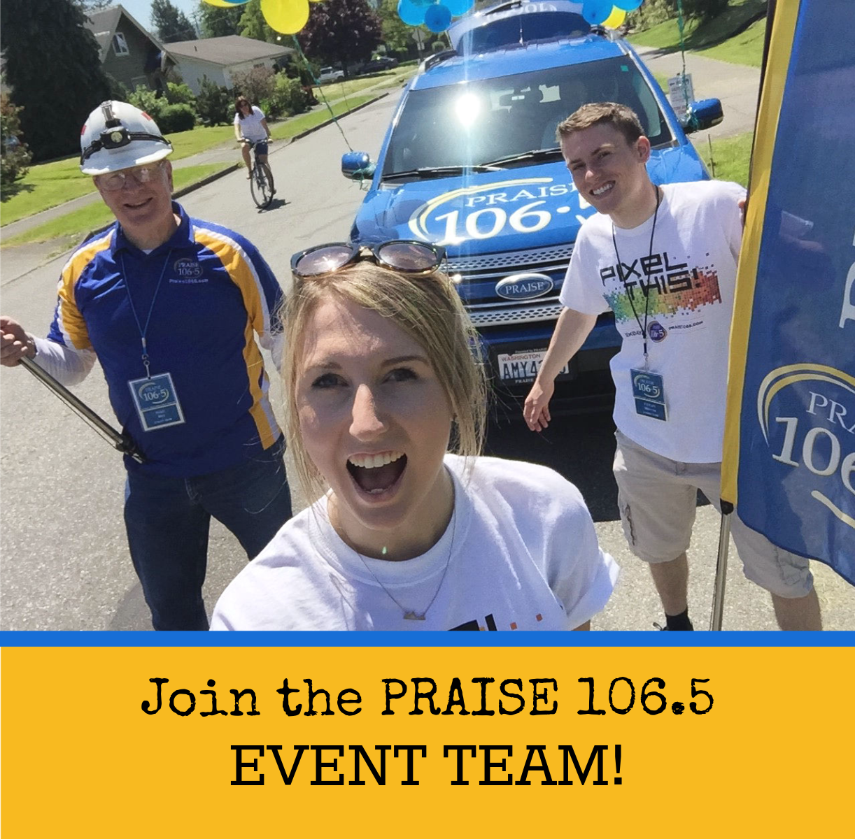Join the PRAISE Event Team