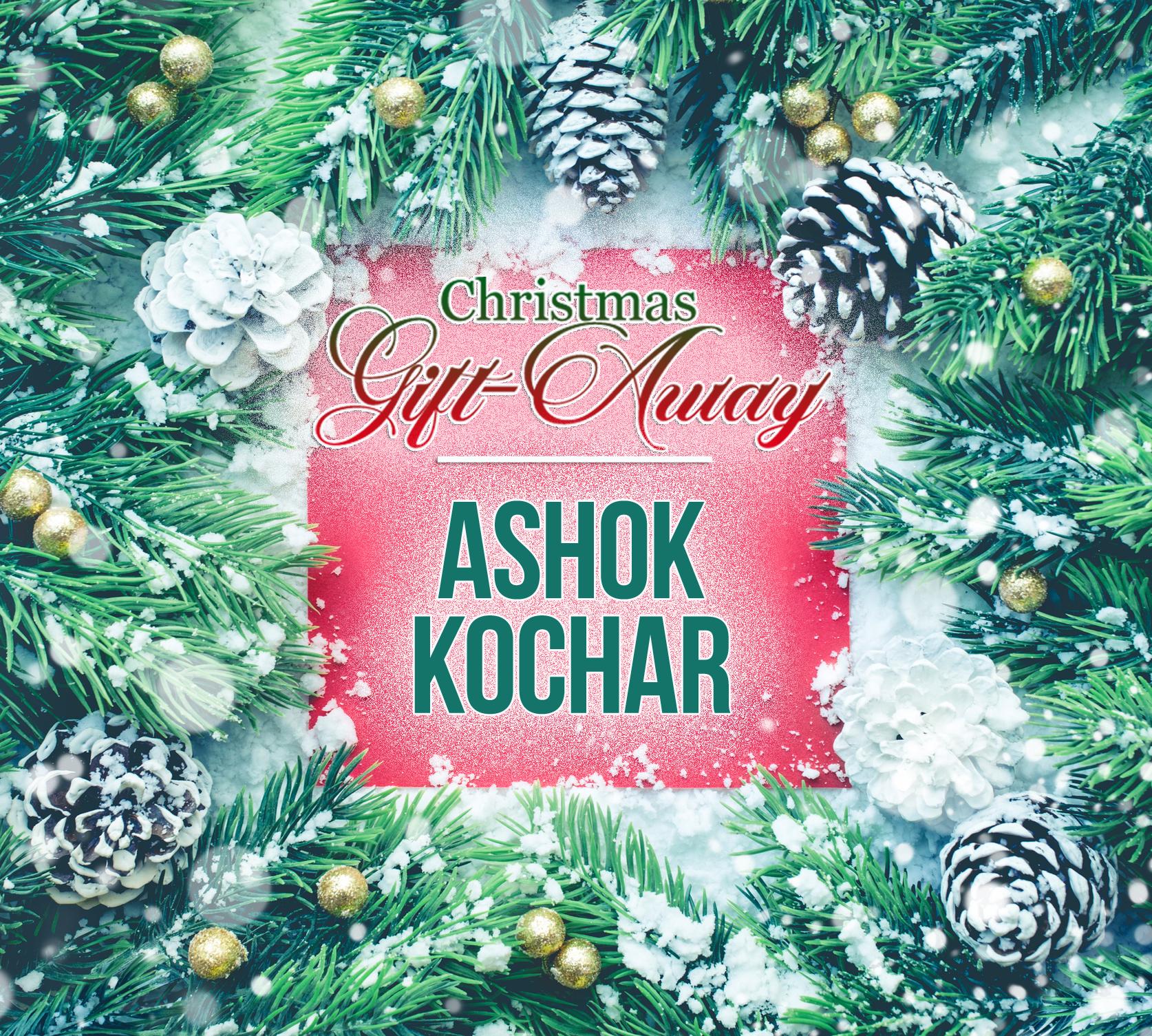 Christmas Gift Away Recipient - Ashok Kochar