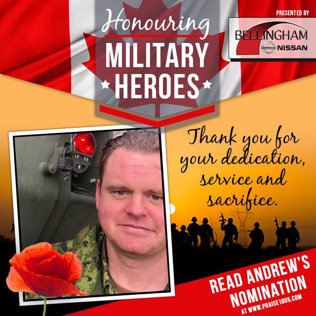 Military Hero - Andrew Iredale