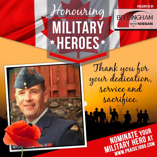 Military Hero - Colin Evans