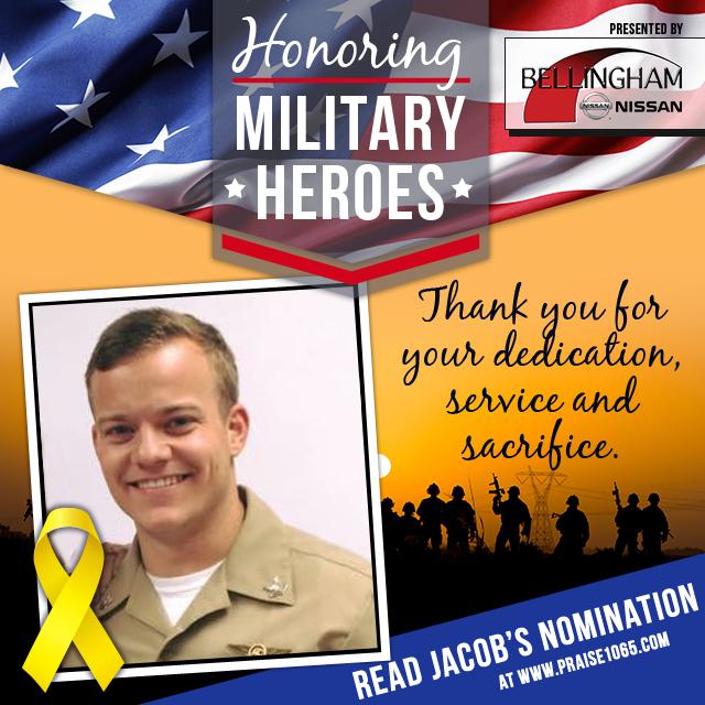 Military Hero - Jacob Hittinger