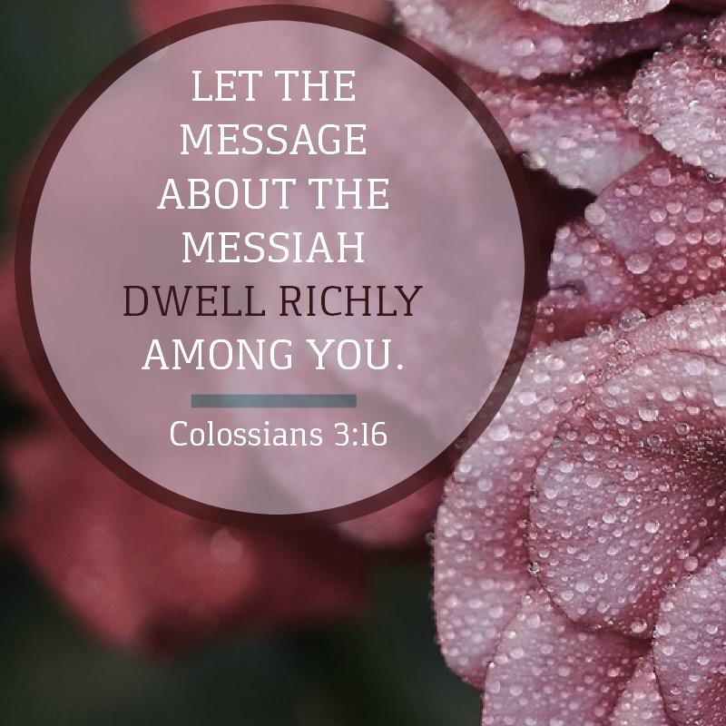 Colossians 3:16-