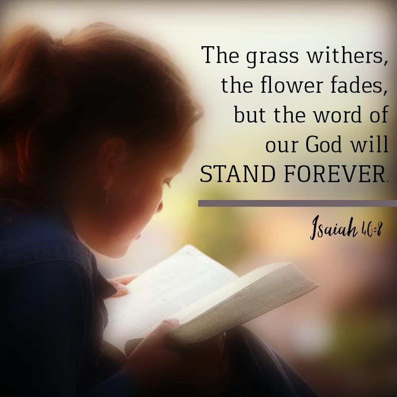 Isaiah 40:8-