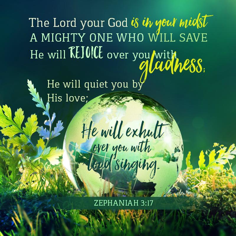 Zephaniah 3:17 -