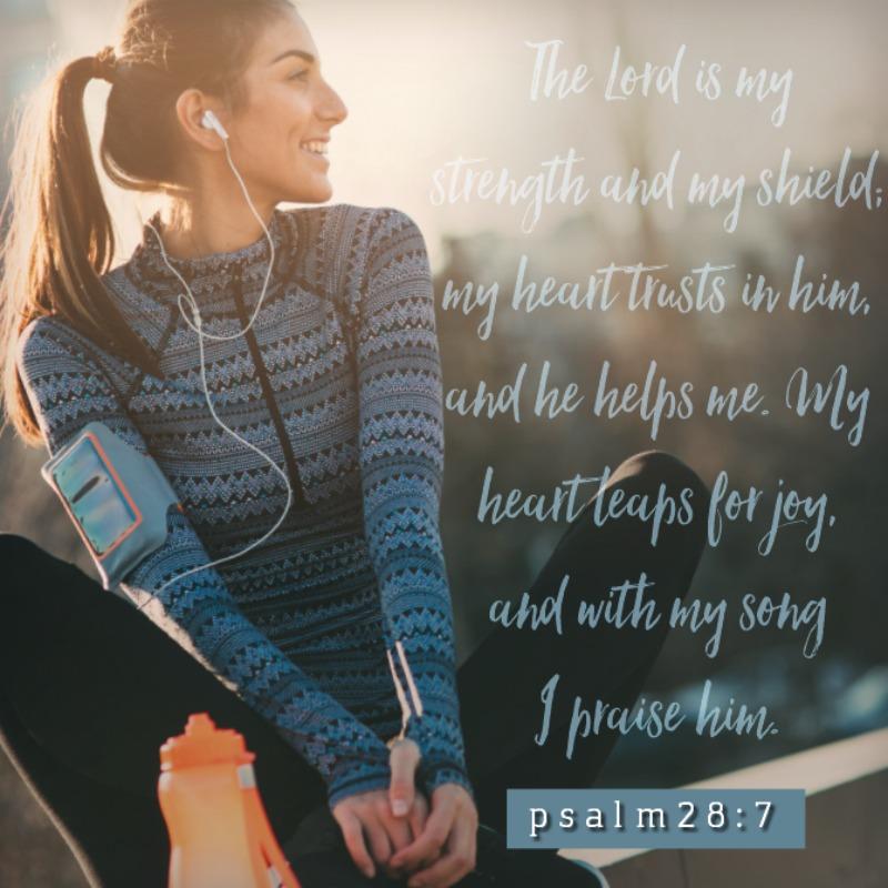Psalm 28:7-