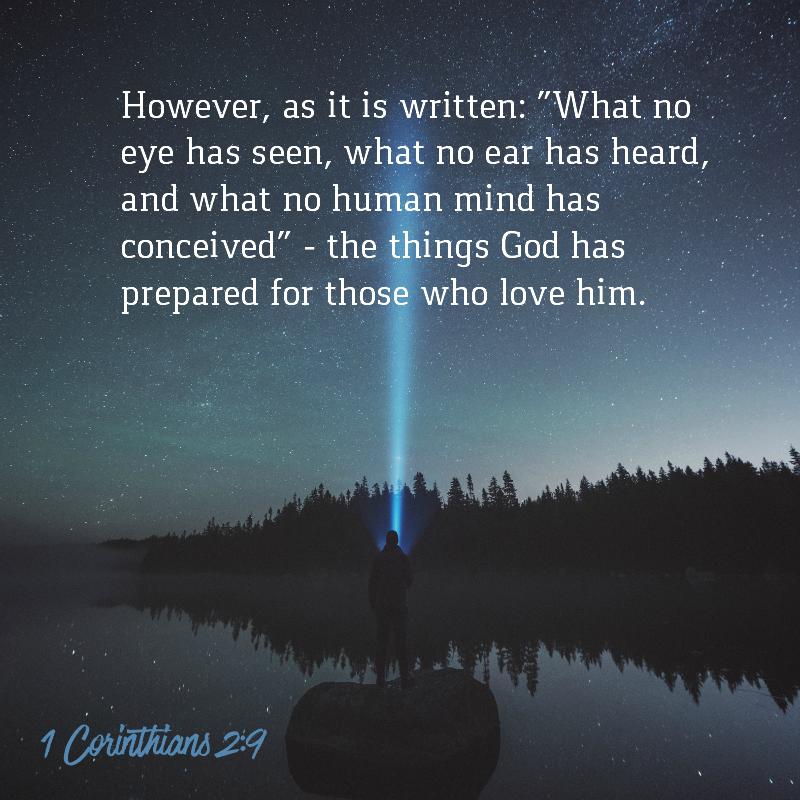 1 Corinthians 2:9-