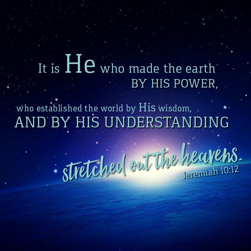 Jeremiah 10:12