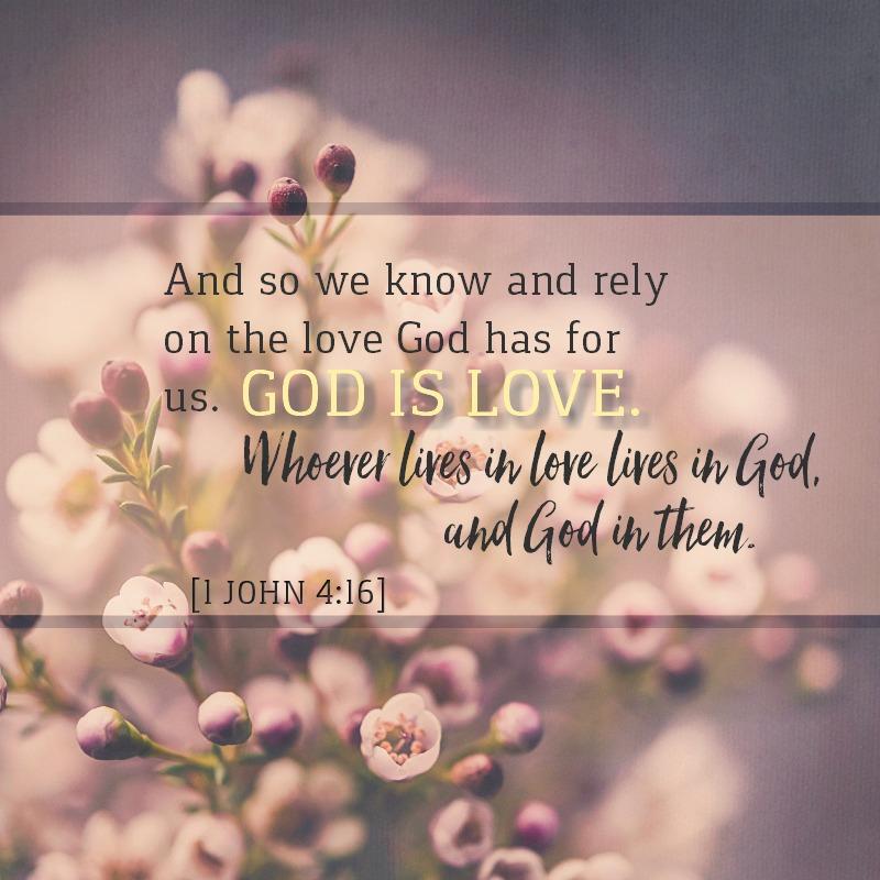 1 John 4:16 – | KCIS 630