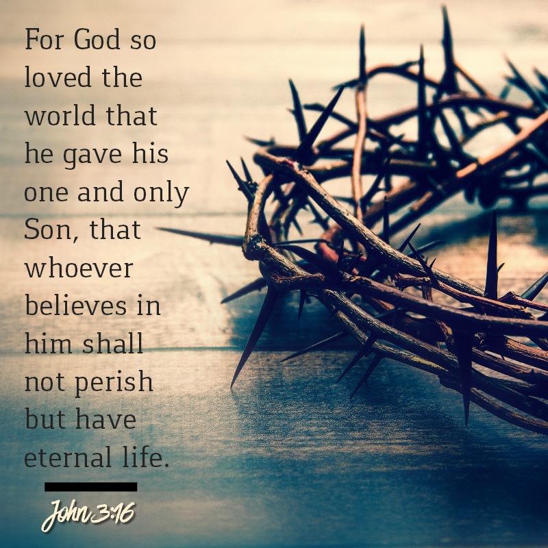 John 3:16-