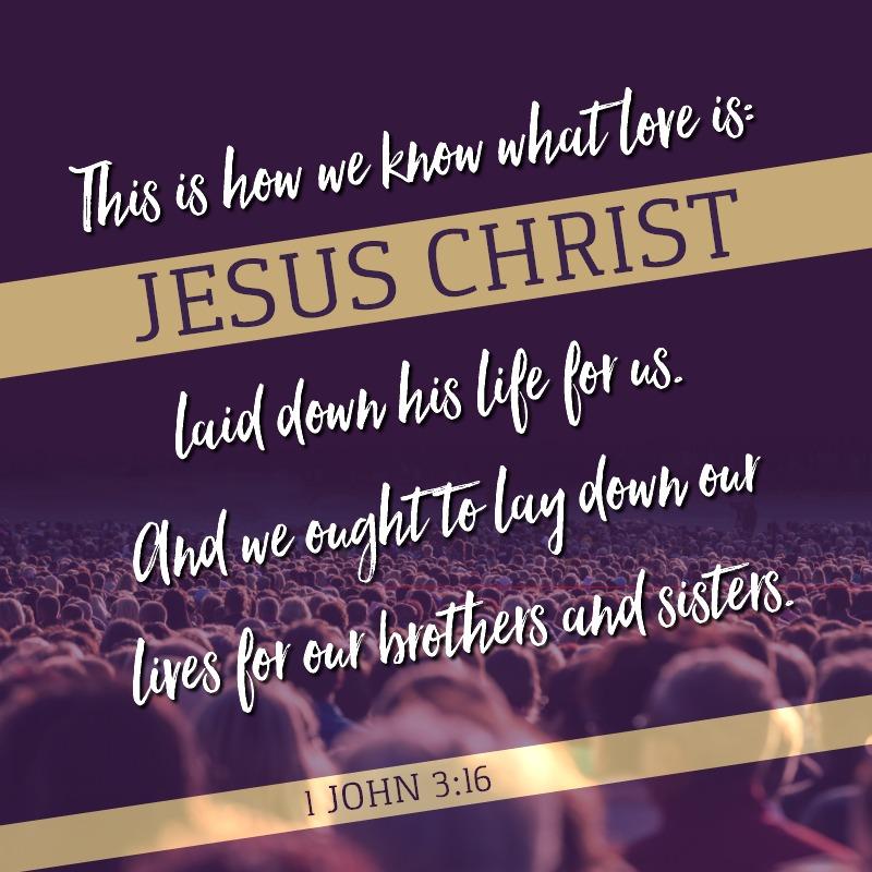 1 John 3:16-