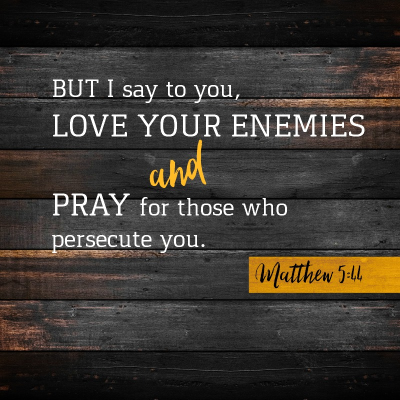 Matthew 5:44