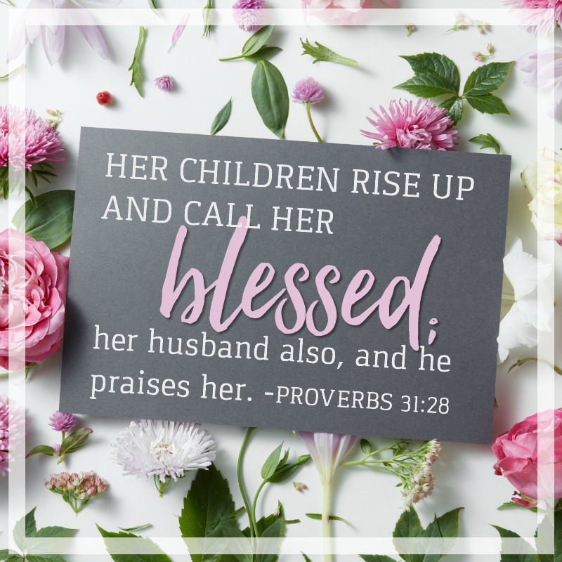 Proverbs 31:28