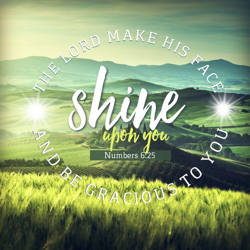 Daily Verse: Numbers 6:25