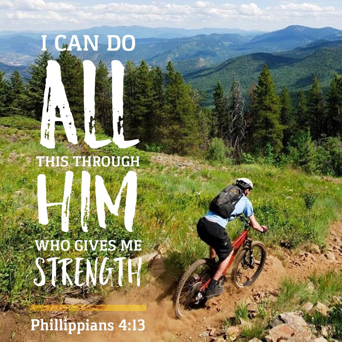 Daily Verse - Phillippians 4:13