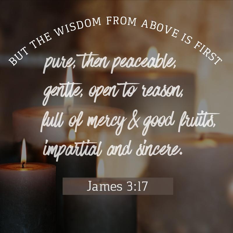 Daily Verse: James 3:17